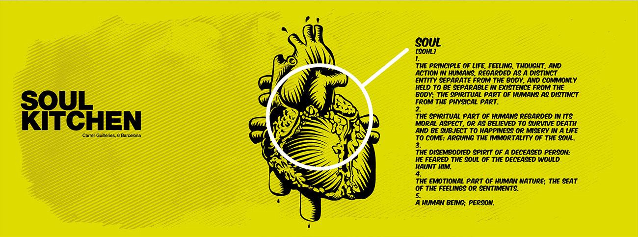 El alma está en el corazón. Como diseñar un flyer con illustrator