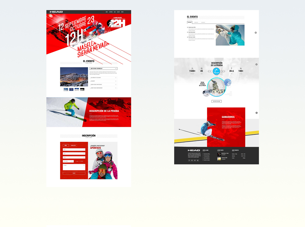 Website proposal para Head