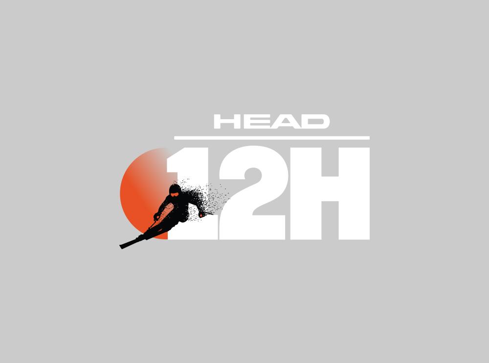 Nuevo logo para HEAD 12h. Incluye los mismos elementos pero nuevos.