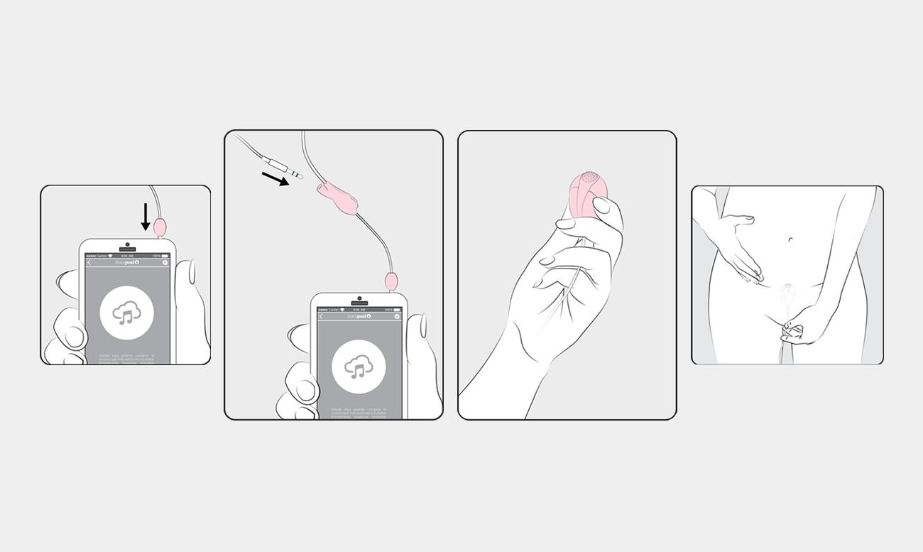 Ilustraciones y diseño gráfico para web e instrucciones. Como se usa el producto, pasos a seguir.