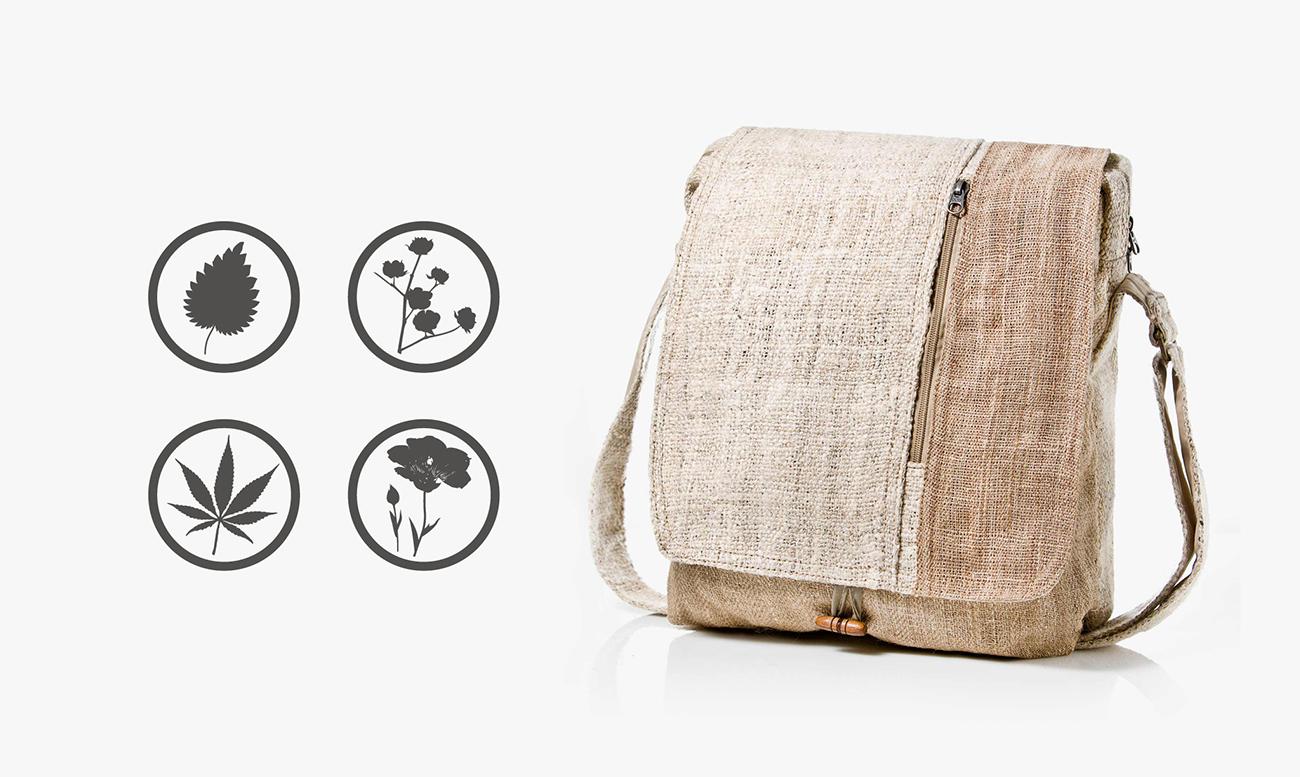 Las 4 fibras que usa la marca para confeccionar sus artículos. Diseñadas con Adobe Illustrator.