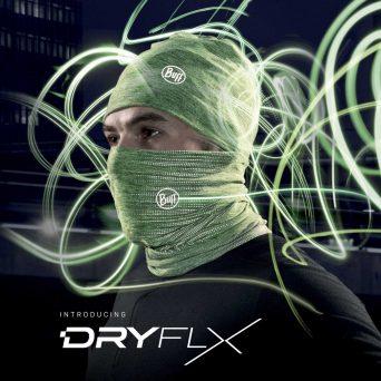 Diseño de logotipo DRYFLX Running en Illustrator para Buff
