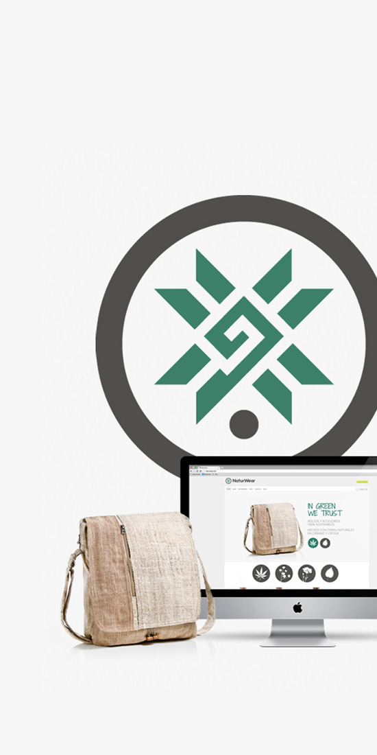 Branding corporativo para Naturwear Ropa ecológica